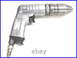 Ingersoll Rand 3/8 Reversible Air Drill, Keyless Chuck