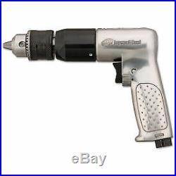 Ingersoll Rand 7803RA 1/2 Heavy Duty Air Reversible Drill Pistol Grip 0.50 Hp