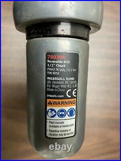 Ingersoll-Rand 7803RA IR7803RA 1/2 Reversible Air Drill With Handel and Chuck