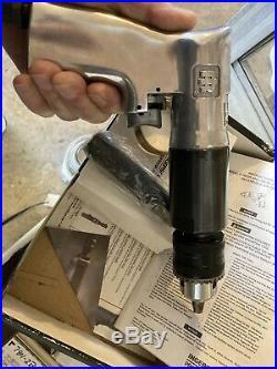Ingersoll Rand IR 7803R 1/2 Heavy Duty Reversible Air Drill 400 RPM