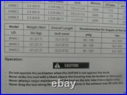 Ingersoll Rand JH40C3 Air Rock Drill