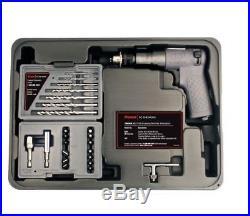 Ingersoll-Rand Lightweight Five-Vane Motor Mini 1/4''' Drill Driver 22-piece Kit