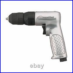 Ingersoll Rand Quiet Technology Air Drill- 3/8in Keyless Chuck, Model# 7802RAKC
