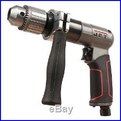 JET 505611 1/2 in. Aluminum Construction Industrial Reversible Air Drill