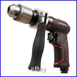 JET 505621 1/2 in. Aluminum Construction Composite Reversible Air Drill