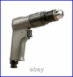 JET JAT-600 Pneumatic R6 Rev Drill, 3/8