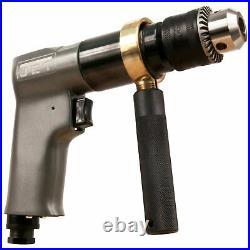 JET JAT-601 1/2 Reversible Drill R6 Series 800 RPM 90 PSI, Lot of 2
