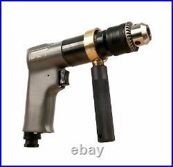 JET JAT-601 Pneumatic R6 Rev Drill, 1/2
