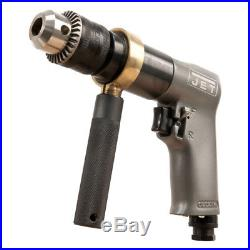 JET JAT-601 R6 1/2 in. Standard Reversible Air Drill 505601 New