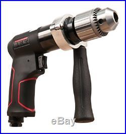 JET JAT-621 Pneumatic R12 Composite Rev Drill, 1/2