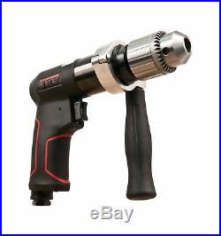 JET JAT-621 Pneumatic R12 Composite Rev Drill, 1/2, BLACK, RED