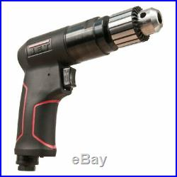 Jet 505620 JAT-620, 3/8 Composite Reversible Air Drill, 1800 RPM, Keyed Chuck
