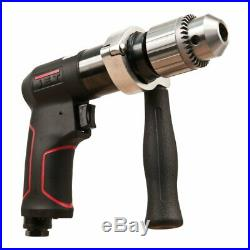Jet 505621 JAT-621 1/2 90PSI R12 Series Variable-Speed Reversible Air Drill