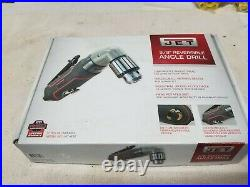 Jet Jat-630 3/8 Reversible Angle Drill 1200rpm New Made In Taiwan