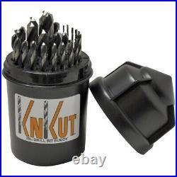 KnKut 29KK38DB 29 PIece Drill Bit Buddy 1/16-1/2 by 64th with 3/8 Shank
