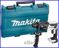 Makita rechargeable hammer drill 18V white withcase HR165DZKW 477