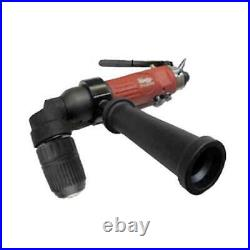 Master Palm Industrial 1/2 90 Degree Right Angle Air Drill Reversible with Q