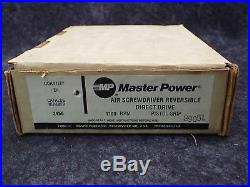Master Power 2456 / 1100RPM Air Screwdriver with Reversible Direct Drive