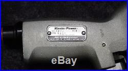 Master Power 2462 PISTOL GRIP AIR SCREWDRIVER REVERSIBLE POSITIVE CLUTCH