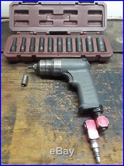 Matco air tools, 1/2 drill, 1/4 ratchet 1/4 impact sockets MT2827 MT1837S MT1745