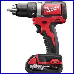 Milwaukee 2701-22CT M18 1/2 Compact Brushless Drill/Driver Kit