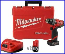 Milwaukee Electric Tools 2504-22 M12 Fuel 1/2 Hammer Drill Kit