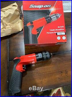 NEW Snap On PDR3001 3/8 Keyless Chuck Reversable Air Drill BRAND NEW