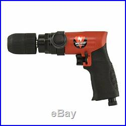 Neiko 30098A Composite Reversible 1/2 Air Drill with Keyless Chuck and Handle