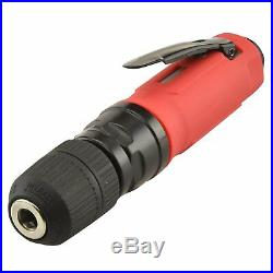 Neiko 30106B 2600 RPM 3/8 Mini Air Drill with Keyless Chuck, Straight Type
