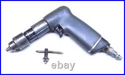 Nice Ingersoll Rand 1/4 Hi Torque Palm Drill Aircraft Tool 600 RPM's