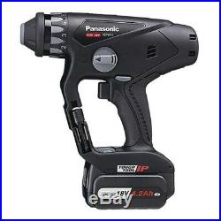 PANASONIC charging multi hammer drill 18V set Black EZ78A1LS2G-B
