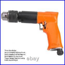 Pneumatic Air Drill Self-Locking Steel Material Ergonomic Handle Trigger Desig