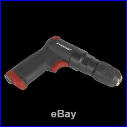 SA620 Sealey Air Pistol Drill with 10mm Keyless Chuck Composite Premier