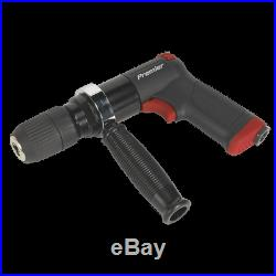 SA621 Sealey Air Drill with 13mm Keyless Chuck Composite Premier Drills