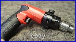 SDR6P3N2 Sioux Tools Pistol Grip Drill 0.60 HP 300 RPM 1/4 Chuck Key No-Reverse