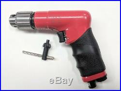 SIOUX DR1416 Aircraft Pneumatic Air Drill 6000 RPM, with 1/4 chuck and key