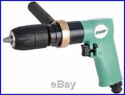 SPEEDAIRE 21AA75 Air Drill, Keyless, 1/2 In, 800 RPM