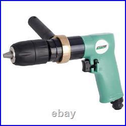 SPEEDAIRE 21AA75 Drill, Air-Powered, Pistol Grip, 1/2 in