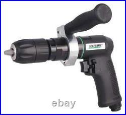 SPEEDAIRE 21AA76 Drill, Air-Powered, Pistol Grip, 1/2 in