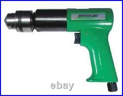SPEEDAIRE 45YY14 Drill, Air-Powered, Pistol Grip, 1/2 in