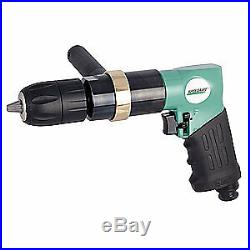 SPEEDAIRE Air Drill, Keyless, 1/2 In, 400 RPM, 21AA74