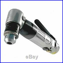 SUNEX TOOLS SX545B Air Drill, Right Angle, Reversible, 3/8
