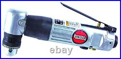 SUNTECH SM-709R Sunmatch 3/8 Reversible Pneumatic Angle Drill, Silver