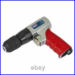 Sealey Air Drill 10mm Reversible with Keyless Chuck GSA241