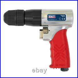 Sealey GSA241 Air Drill Ø10mm Reversible with Keyless Chuck