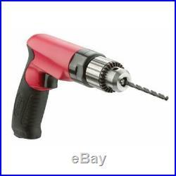 Sioux Tools SDR10P26N3 3/8 Drive Pneumatic Pistol Grip Drill 1 HP 2,600 RPM