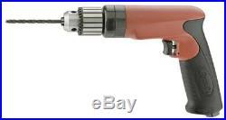 Sioux Tools SDR10P26N4 1/2 Drive Pneumatic Pistol Grip Drill 1 HP 2,600 RPM