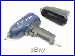 Snap-on Tools MG725 1/2-in Air Pneumatic Impact Wrench Dark Blue