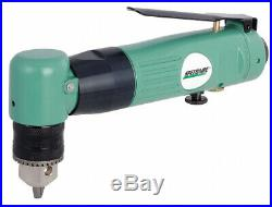 Speedaire 0.5 HP General Duty Keyed Air Drill, Right Angle Style, 1cm Chuck