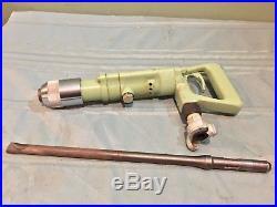 Sullair Mrd-9 Horizontal Rotary Rock Hammer Utility Pneumatic Drill